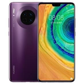 Huawei mate 30 TAS-AL00  40MP camera  6GB + 128GB  China versie  Triple terug camera's  4200mAh batterij  scherm vingerafdruk identificatie  6 62 inch EMUI 10 0 (Android 10 0) HUAWEI Kirin 990 OCTA core tot 2.86 GHz  netwerk: 4G  OTG  NFC  IR (violet)