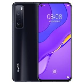 Huawei nova 7 5G JEF-AN00  64MP Camera  8GB+256GB  China Version  Quad Back Cameras  4000mAh Battery  Face ID & Screen Fingerprint Identification  6.53 inch EMUI 10.1 (Android 10) HUAWEI Kirin 985 Octa Core tot 2.58GHz  Network: 5G  OTG  NFC(Jet Black)