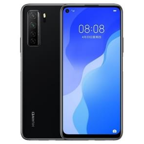 Huawei nova 7 SE 5G CDY-AN00  64MP Camera  8GB+128GB  China Version  Quad Back Cameras  4000mAh Battery  Face ID & Side-mounted Fingerprint Identification  6.5 inch EMUI 10.1 (Android 10) HUAWEI Kirin 820 Octa Core tot 2.36GHz  Network: 5G  OTG(Black)