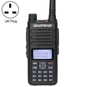 BaoFeng DM-1801 5W(High) 2W(Low) Digital Dual Band Two-Way Radio VHF UHF Handheld Walkie Talkie, UK Plug