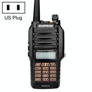 BaoFeng BF-UV9Rplus 16W Waterproof Dual Band Radio Handheld Antenna Walkie Talkie, US Plug