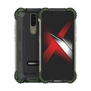 [HK-magazijn] DOOGEE S58 Pro Triple Proofing Phone  6GB+64GB  IP68 Waterproof Dustproof Shockproof  5180mAh batterij  triple back camera's  vingerafdrukidentificatie  5 7 inch Android 10.0 MTK6762 Helio P22 Octa Core tot 2 0 GHz  Netwerk: 4G (Army Green)