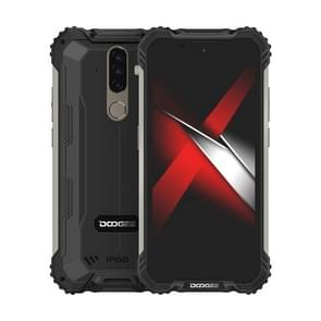 [HK-magazijn] DOOGEE S58 Pro Triple Proofing Phone  6GB+64GB  IP68 Waterproof Dustproof Shockproof  5180mAh batterij  triple back camera's  vingerafdrukidentificatie  5 7 inch Android 10.0 MTK6762 Helio P22 Octa Core tot 2 0 GHz  Netwerk: 4G(Zwart)