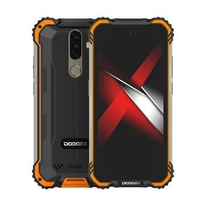 [HK-magazijn] DOOGEE S58 Pro Triple Proofing Phone  6GB+64GB  IP68 Waterproof Dustproof Shockproof  5180mAh batterij  triple back camera's  vingerafdrukidentificatie  5 7 inch Android 10.0 MTK6762 Helio P22 Octa Core tot 2 0 GHz  Netwerk: 4G (Oranje)