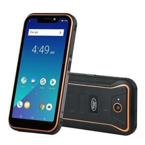 GUOPHONE U007 Robuuste telefoon  2GB +16GB  IP67 Waterdicht stofdicht schokbestendig  5000mAh batterij  vingerafdruk identificatie  5.5 inch Android 8.1 MTK6739 Quad Core  Netwerk: 4G (Oranje)