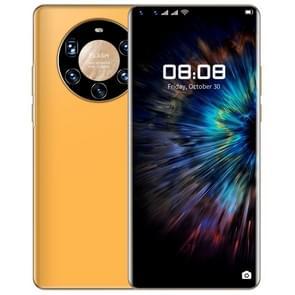 Mate40 Pro+  1GB+16GB  6 9 inch Pole Notch-scherm  gezichtsidentificatie  Android 6.0 MTK6580P Quad Core  Netwerk: 3G(oranje)