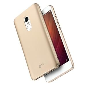 Lenuo for  Xiaomi Redmi Note 4 PC Ultra-thin Impact Protection Case (Gold)