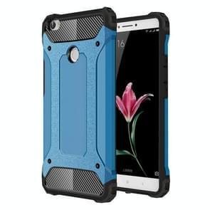 Voor Xiaomi Max harde Armor TPU + PC combinatie Case(Blue)