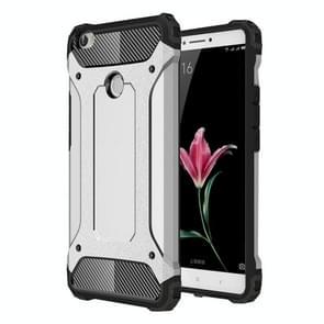Voor Xiaomi Max harde Armor TPU + PC combinatie Case(Silver)