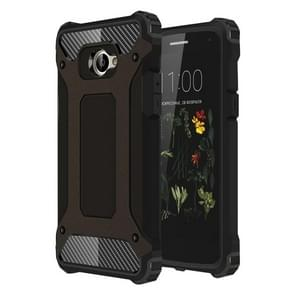 LG K5 Tough Armor TPU + PC Combination Case(Black)