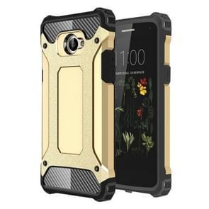 LG K5 Tough Armor TPU + PC Combination Case(Gold)