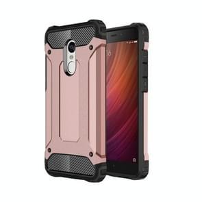 For Xiaomi  Redmi Note 4 Tough Armor TPU + PC Combination Case(Rose Gold)