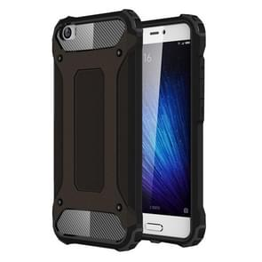 For Xiaomi  Mi 5 Tough Armor TPU + PC Combination Case(Black)