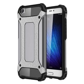 For Xiaomi  Mi 5 Tough Armor TPU + PC Combination Case(Grey)