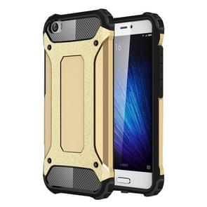 For Xiaomi  Mi 5 Tough Armor TPU + PC Combination Case(Gold)
