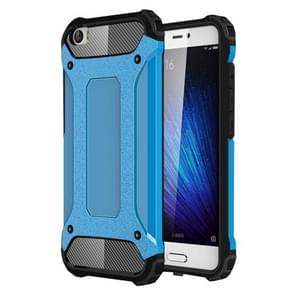 For Xiaomi  Mi 5 Tough Armor TPU + PC Combination Case(Blue)