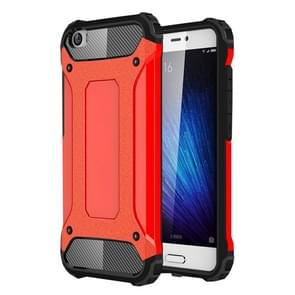 For Xiaomi  Mi 5 Tough Armor TPU + PC Combination Case(Red)