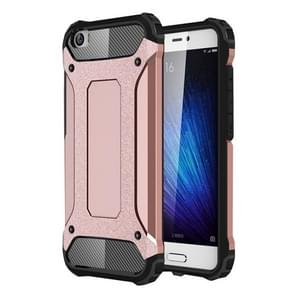 For Xiaomi  Mi 5 Tough Armor TPU + PC Combination Case(Rose Gold)