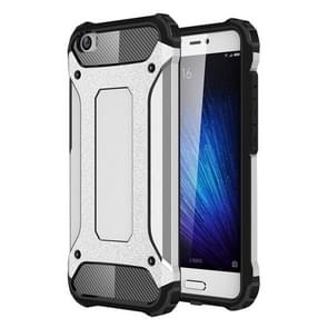 For Xiaomi  Mi 5 Tough Armor TPU + PC Combination Case(Silver)