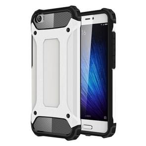 For Xiaomi  Mi 5 Tough Armor TPU + PC Combination Case(White)