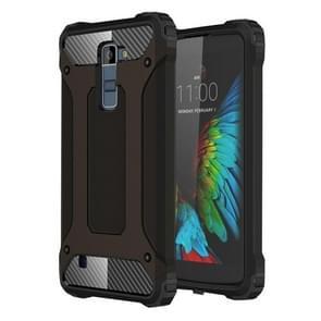 Tough Armor TPU + PC Combination Case For LG K10 (Black)