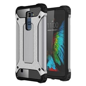 Tough Armor TPU + PC Combination Case For LG K10 (Grey)