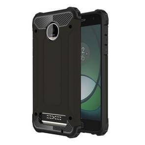 For Motorola Moto Z Play Armor TPU + PC Combination Case(Black)