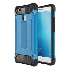 For Huawei  P9 Lite Tough Armor TPU + PC Combination Case(Blue)