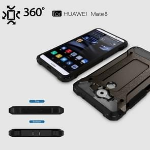 Huawei Mate 8 Tough Armor TPU + PC combinatie Hoesje (zwart)