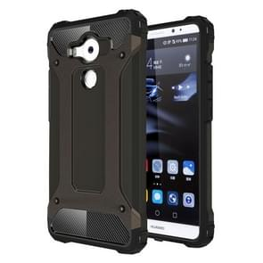 Huawei Mate 8 Tough Armor TPU + PC combinatie Hoesje (bronskleurig)
