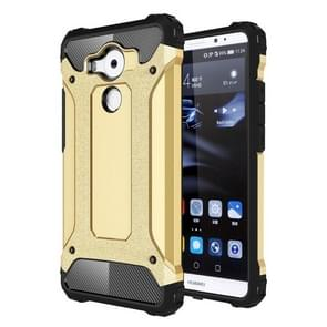 Huawei Mate 8 Tough Armor TPU + PC combinatie Hoesje (goudkleurig)