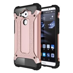 Huawei Mate 8 Tough Armor TPU + PC combinatie Hoesje (roze goudkleurig)