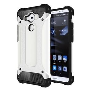 Huawei Mate 8 Tough Armor TPU + PC combinatie Hoesje wit
