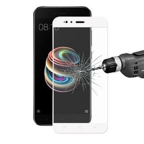 ENKAY Hat-Prins voor Xiaomi Mi 5 X 0 26 mm 9H hardheid 2.5D gebogen Full Screen getemperd glas scherm Film(White)