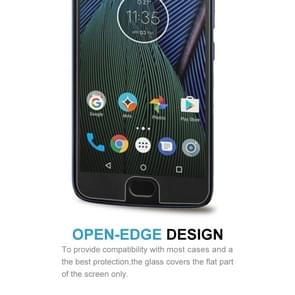 For Motorola Moto G5S 0.3mm 9H Surface Hardness 2.5D Explosion-proof Tempered Glass Non-full Screen Film