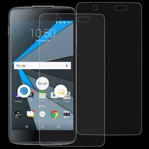 2 PCS 0.26mm 9H 2.5D Tempered Glass Film for Blackberry DTEK50
