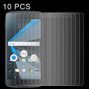 10 PCS 0.26mm 9H 2.5D Tempered Glass Film for Blackberry DTEK50