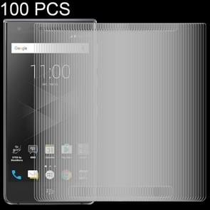 100 PCS 0.26mm 9H 2.5D Tempered Glass Film for BlackBerry Motion