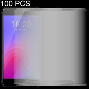 100 stuks 0 26 mm 9H 2.5D getemperd glas Film voor Meizu M6