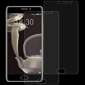 2 stk 0 26 mm 9H 2.5D getemperd glas Film voor Meizu PRO 7 Plus