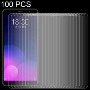100 stuks 0 26 mm 9 H oppervlaktehardheid 2.5D volledig scherm getemperd glas Film voor Meizu M6T