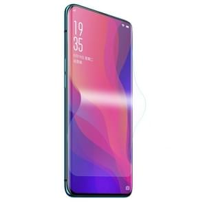 ENKAY Hat-Prince 0.1mm 3D Full Screen Protector Explosion-proof Hydrogel Film for OPPO Find X, TPU+TPE+PET Material