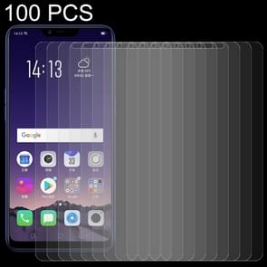 100 PCS 0.26mm 9H 2.5D Tempered Glass Film for OPPO AX5