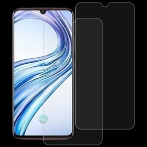 2 stk 0 26 mm 9H 2.5D Tempered glas Film voor vivo X23