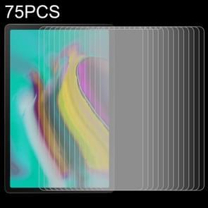 75 stuks 9u oppervlakte hardheid anti-vingerafdruk explosie-proof getemperd glas film voor Galaxy tab A 10 1 (2019)