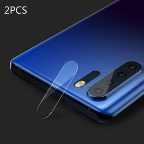2PCS Benks KR Series 0.15mm Transparent Soft Rear Camera Lens Protective Film for Huawei P30 Pro