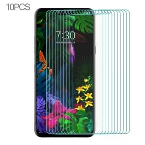 10 PCS for LG G8s ThinQ Ultra Slim 9H 2.5D Tempered Glass Screen Protective Film (Transparent)