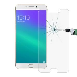 OPPO R9 0.26mm 9H Surface Hardness 2.5D Explosion-proof Tempered Glass Screen Film