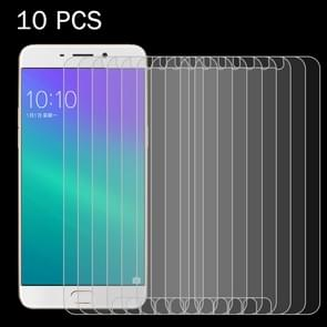 10 PCS OPPO R9 0.26mm 9H Surface Hardness 2.5D Explosion-proof Tempered Glass Screen Film
