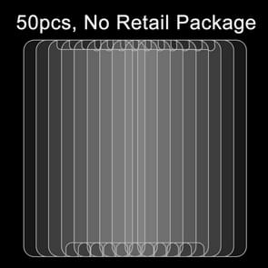 50 PCS OPPO R9 0.26mm 9H Surface Hardness 2.5D Explosion-proof Tempered Glass Screen Film, No Retail Package